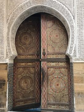 Fez Medina Door