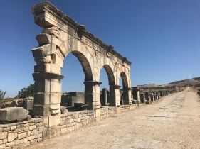 Volubilis Ancient Ruins