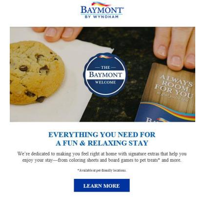Wyndham Baymont email
